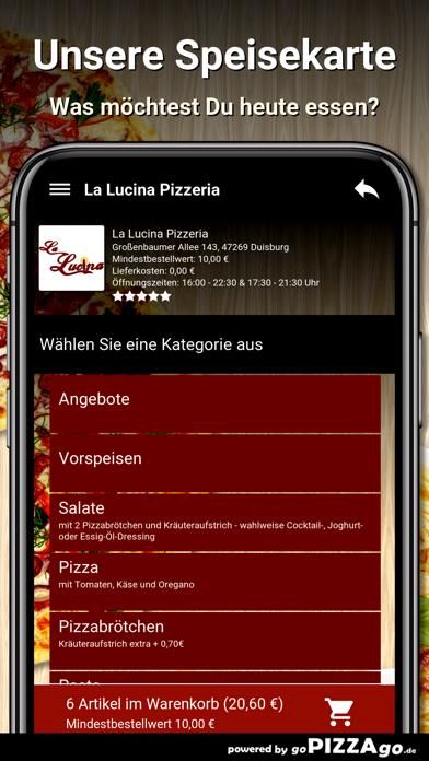 La Lucina Pizzeria Duisburg screenshot 4
