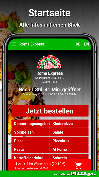 Roma Express Bous screenshot 2