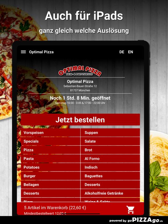 Optimal Pizza München screenshot 7