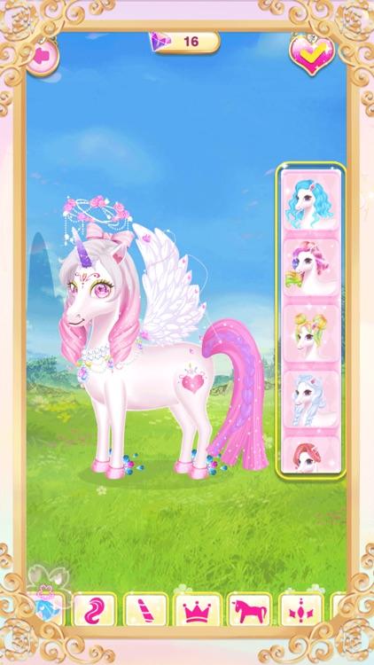 Princess unicorn dress up game screenshot-8