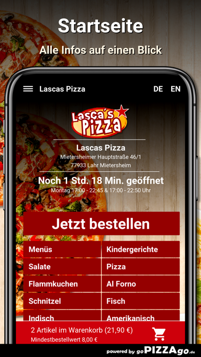 Lascas Pizza Lahr Mietersheim screenshot 4