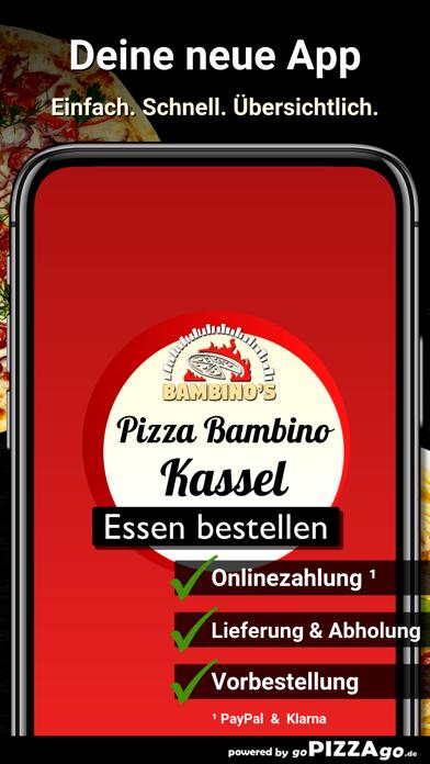 Pizza Bambino Kassel screenshot 1