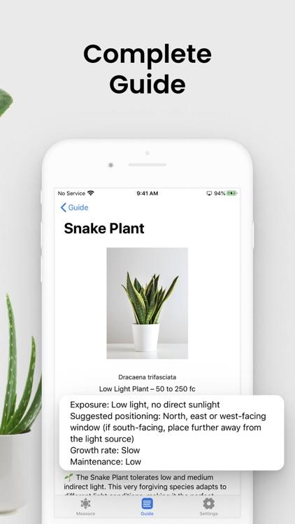 Plant Light Meter screenshot-2