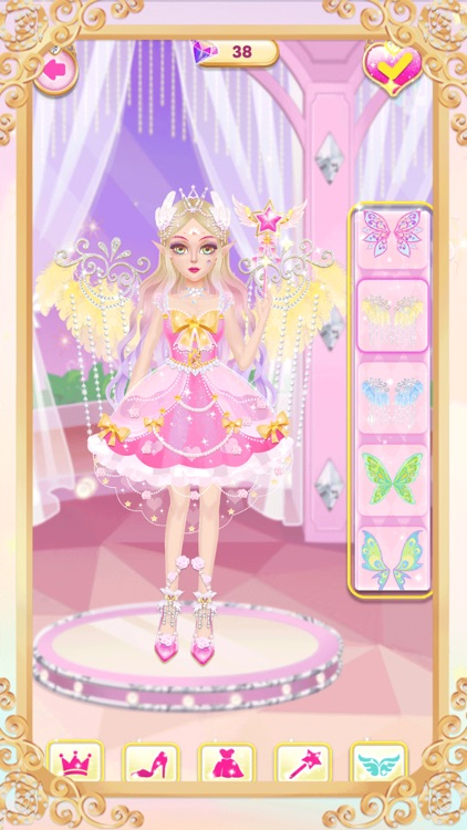 Princess unicorn dress up game screenshot-5