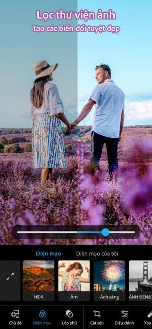 Photoshop Express hiệu ứng ảnh