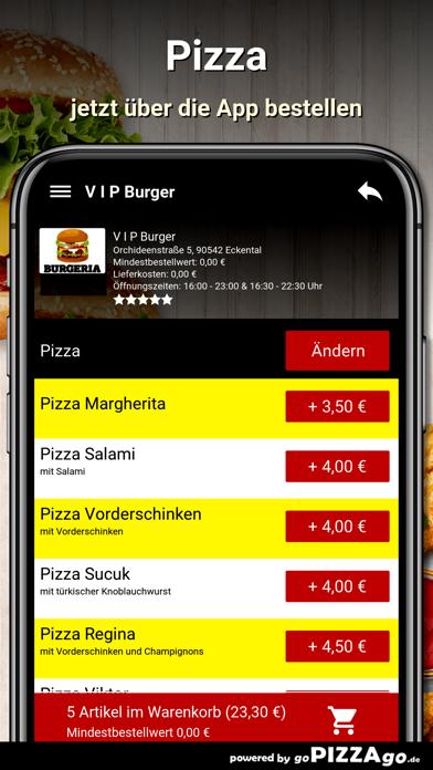 V I P Burger Eckental screenshot 5