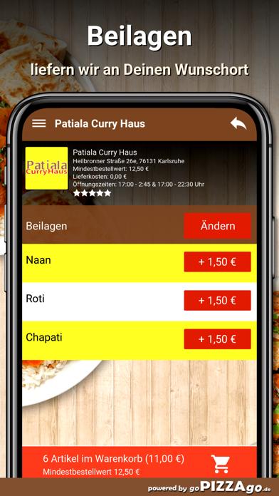 Patiala Curry Haus Karlsruhe screenshot 1