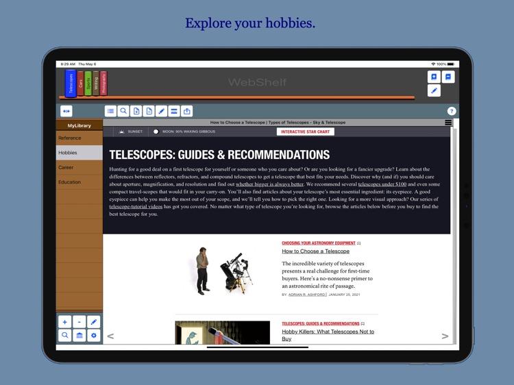 WebShelf screenshot-3