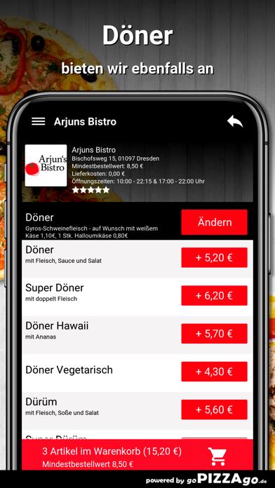 Arjuns Bistro Dresden screenshot 6