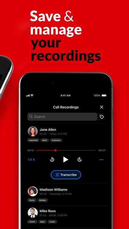 Call Recorder App: RecMyCalls