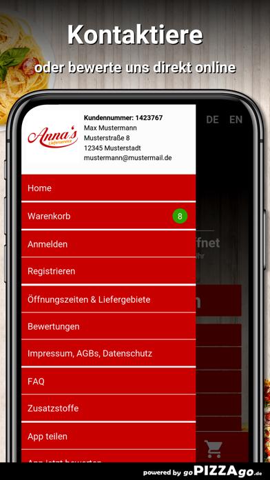 Annas Lieferservice Böblingen screenshot 3
