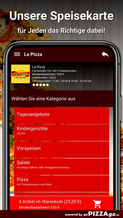 La Pizza Saarbrücken screenshot 4