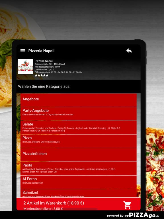Pizzeria Napoli Marl screenshot 7