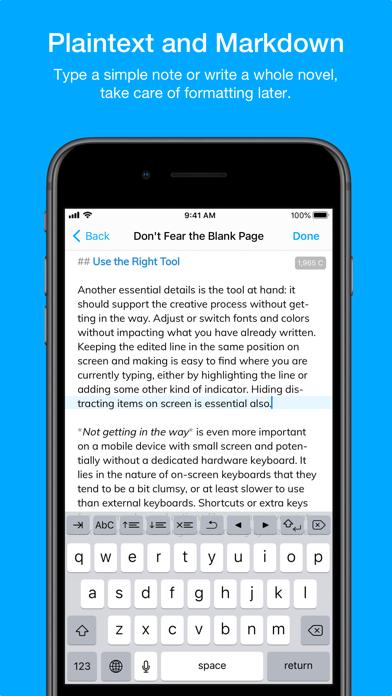 Скриншот №3 к Notebooks – Write and Organize