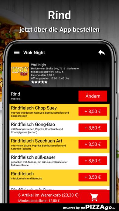 Wok Night Karlsruhe screenshot 3