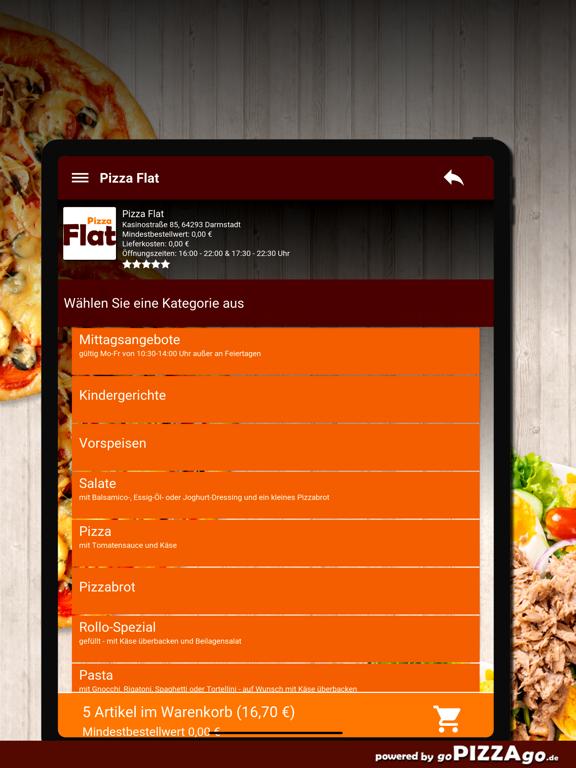 Pizza Flat Darmstadt screenshot 8