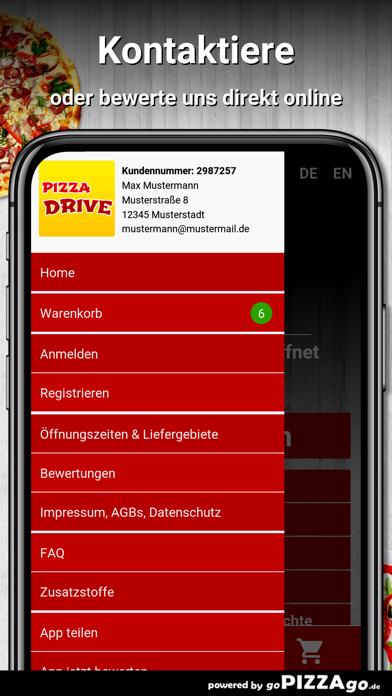 Pizza Drive Grünberg screenshot 3
