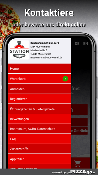 Pizzeria Station Bersenbrück screenshot 3