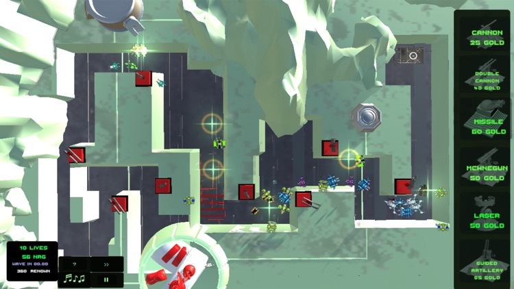 Moon Tower Defense with Ads screenshot-3