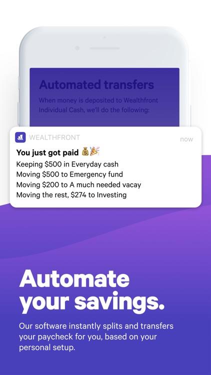 Wealthfront: Earn More screenshot-6