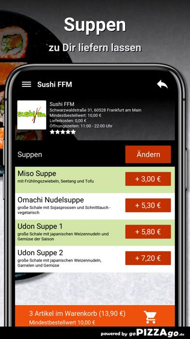 Sushi FFM Frankfurt am Main screenshot 5
