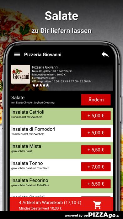 Pizzeria Giovanni Berlin screenshot 5