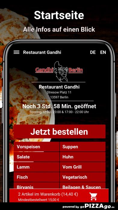 Restaurant Gandhi Berlin screenshot 2