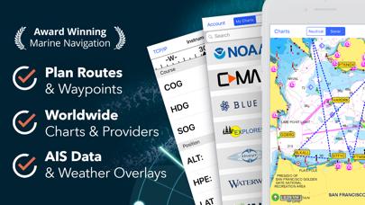 iNavX: Marine Navigation Screenshots