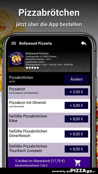 Bollywood Pizzeria Plauen screenshot 5