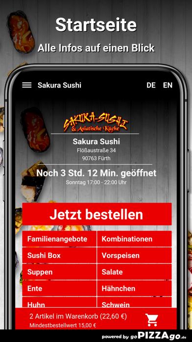 Sakura Sushi Fürth screenshot 2