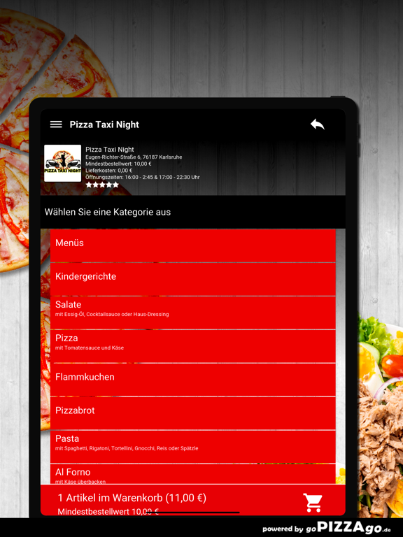 Pizza Taxi Night Karlsruhe screenshot 8