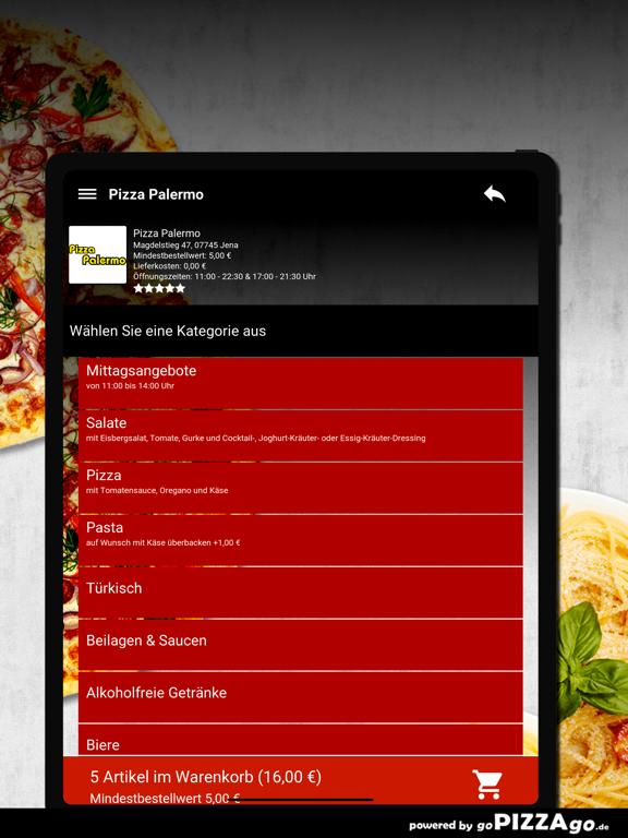 Pizza Palermo Jena screenshot 8