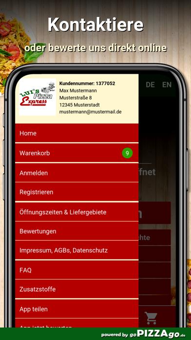 Luis Pizza Express Lippstadt screenshot 3