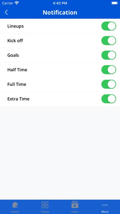 Euro Football App screenshot 7