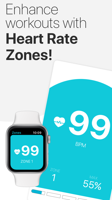 The Zones App for the Watch