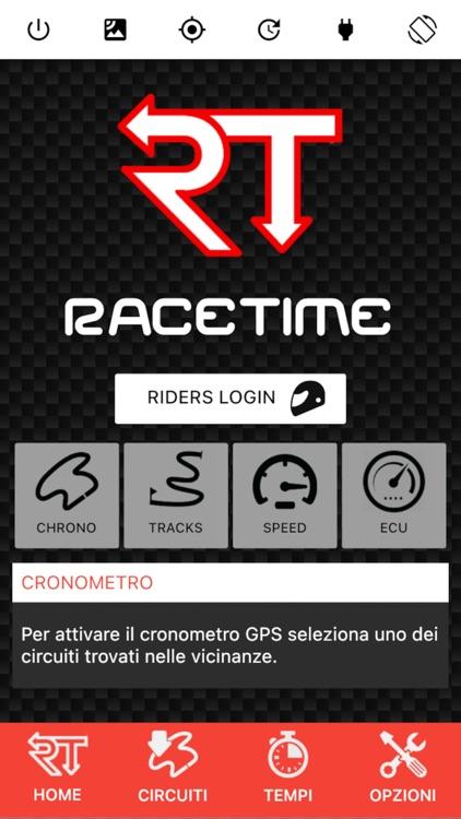 RaceTime - GPS Chrono