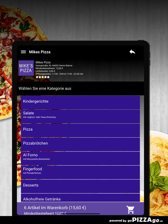 Mikes Pizza Herne Wanne screenshot 8