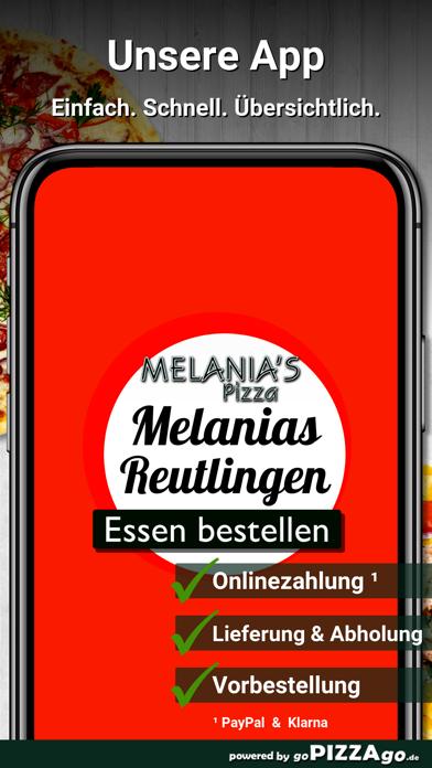Melanias Pizza Reutlingen screenshot 1
