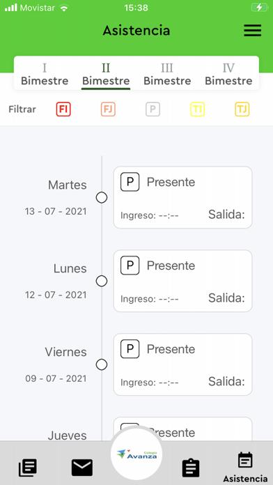 Colegio Avanza screenshot 5