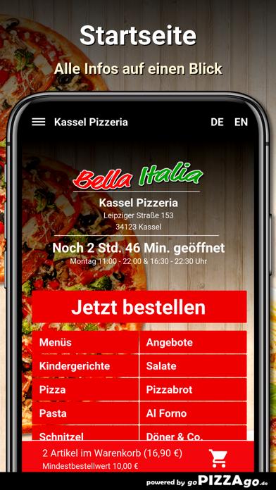 Kassel Pizzeria Kassel screenshot 2