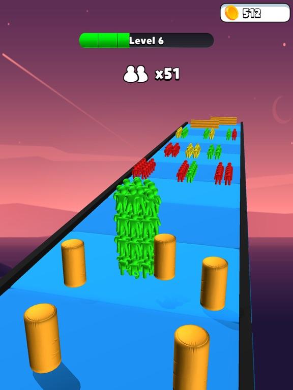 Colorful Racing Strike Guys screenshot 5