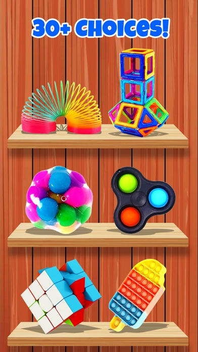 Pop It Trading Fidget Toys 3D Screenshot on iOS