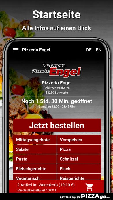 Pizzeria Engel Schwerte screenshot 2