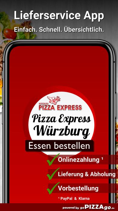 Pizza-Express Würzburg screenshot 2