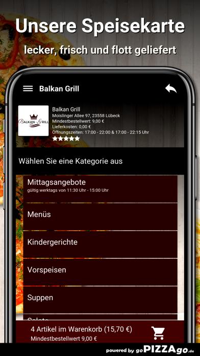 Balkan-Grill Lübeck screenshot 4