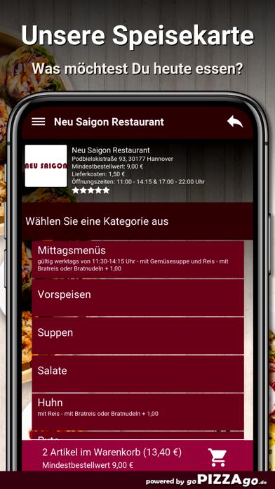 Neu Saigon Restaurant Hannover screenshot 4