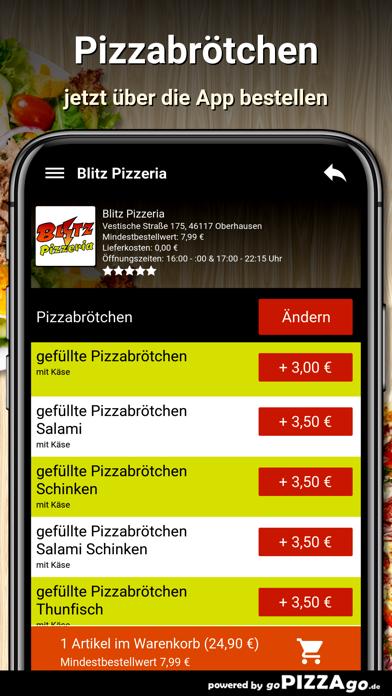 Blitz Pizzeria Oberhausen screenshot 5