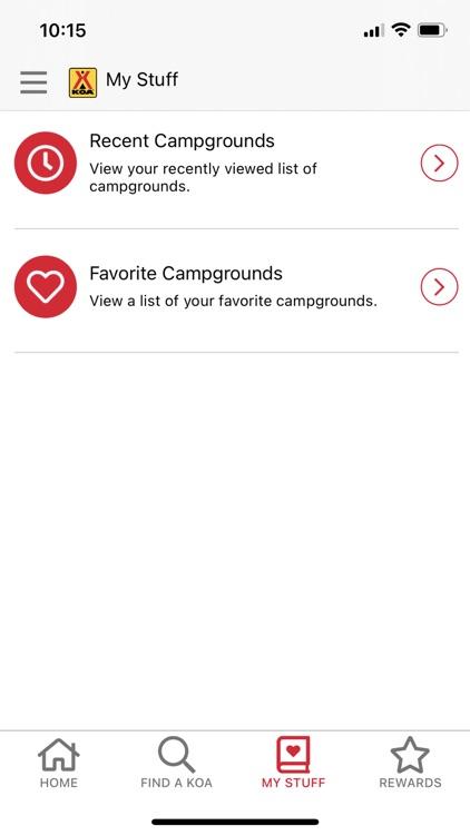KOA   RV, Cabin & Tent Camping screenshot-4