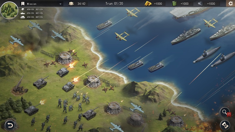 WW2: Strategy World War Games screenshot-4