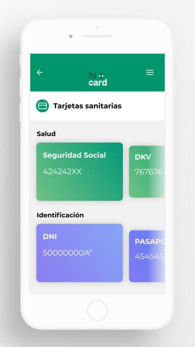 hi+card App screenshot 4